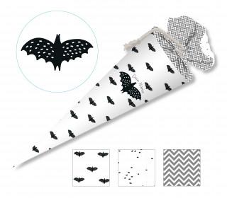 DIY-Nähset Schultüte - Little Bat - Fledermaus - zum selber Nähen