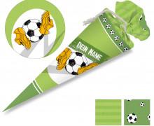 DIY-Nähset Schultüte - Fußball Feld - zum selber Nähen