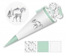 DIY-Nähset Schultüte - Dreamy Deer - Reh - zum selber Nähen