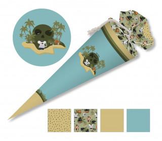DIY-Nähset Schultüte - Pirateninsel - Koala - zum selber Nähen