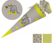 DIY-Nähset Schultüte - Kroko - Käselotti - zum selber Nähen