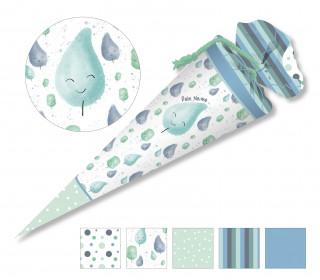 DIY-Nähset Schultüte - CottonCandy - Mint - Little Love - zum selber Nähen