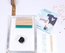 DIY Siebdruck Starter-Set – A3 Rahmen – inkl. Rakel – zum Selbermachen