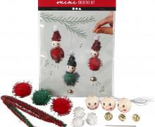 Mini Kreativ Set 19 - Drei Weihnachtsfeen - Wunschgeschenk