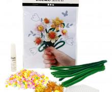 Mini Kreativ Set 3 - Blumenstrauß - Wunschgeschenk