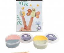 Mini Kreativ Set 5 - Fingerpuppen - Wunschgeschenk