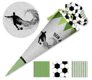 DIY-Nähset Schultüte - Fussballverrückt - zum selber Nähen