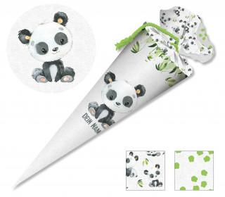 DIY-Nähset Schultüte - Panda Payton - zum selber Nähen
