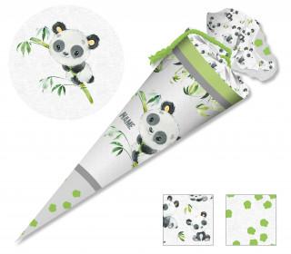 DIY-Nähset Schultüte - Panda Paisley - zum selber Nähen