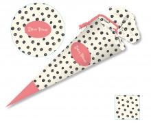 DIY-Nähset Schultüte - Dots - zum selber Nähen