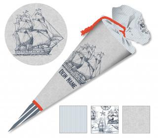 DIY-Nähset Schultüte - Schiff- zum selber Nähen