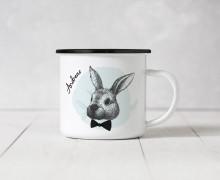 Emaille Becher – Mr. Rabbit