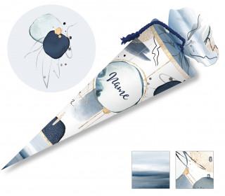 DIY-Nähset Schultüte – Abstrakt – zum selber Nähen