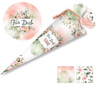 DIY-Nähset Schultüte – Aufgeblüht – zum selber Nähen