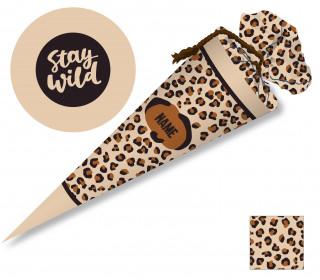 DIY-Nähset Schultüte - Wildlife - zum selber Nähen