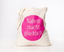 Dein Geschenk - 1 Büddel - Nähen macht glücklich - Pink