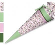 DIY-Nähset Schultüte - Kirschblüten - zum selber Nähen