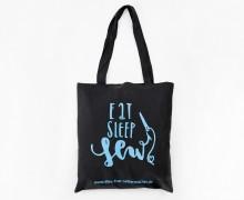 Dein Geschenk - 1 Büddel - Eat Sleep Sew - scharz