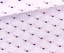 Sommersweat - Ahoi Triangle - Anker - GOTS - Zartlavendel