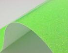 A4 ExtraBling-Bügelfolie-Glitzereffekt-Neongrün