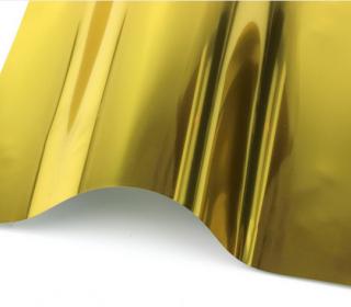 A4 SpiegelFlex - Bügelfolie - Gold