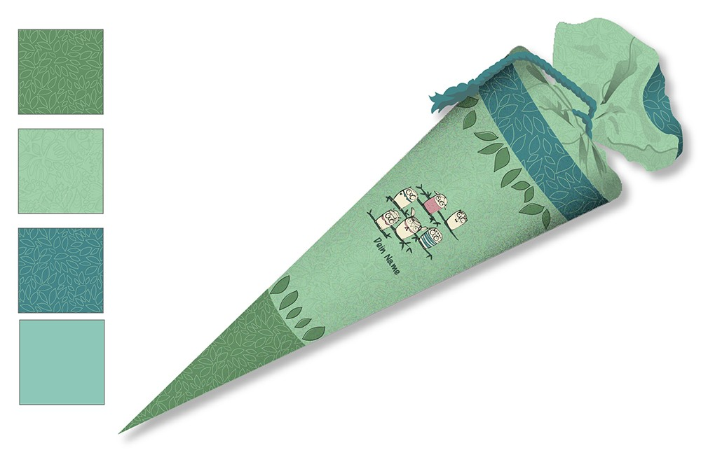 DIY-Nähset Schultüte - Maedchenwahn - Eulen - zum selber Nähen