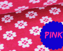 Frottee Sunshine - Kleeblatt - Klee - Pink
