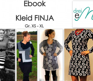 Ebook -  Kleid Finja / Gr. XS - XL