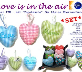Stick Datei -   Love is in the air SET