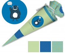 DIY-Nähset Schultüte – Monster – zum selber Nähen