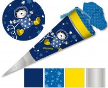 DIY-Nähset Schultüte - formenfroh - Astronaut - zum selber Nähen