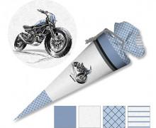 DIY-Nähset Schultüte - Motorrad - zum selber Nähen