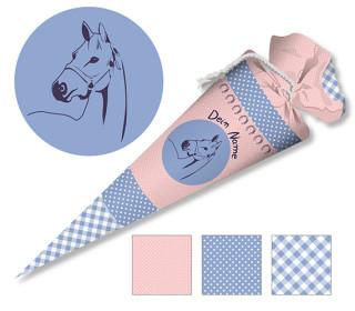 DIY-Nähset Schultüte - Pferd - zum selber Nähen