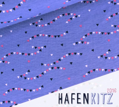 HafenKitz Kombi WIMPEL HORTENSIENBLAU - Jersey - NIKIKO