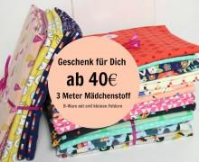 Dein Geschenk - 3 Meter II Wahl Mädchenpaket