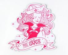 Dein Wunschgeschenk - Magnet - Miss Gräte