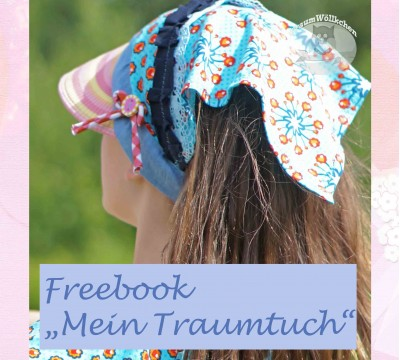 ebook - Mein Traumtuch - Freebie - Traumwöllkchen
