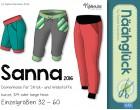 eBook – Näähglück Sanna – Damenhose Größe 32 - 60