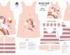 DIY-Nähset Kleidchen - Einhorn - Jersey - NIKIKO - zum selber Nähen