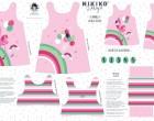 DIY-Nähset Kleidchen - Flamingo - Jersey - NIKIKO - zum selber Nähen