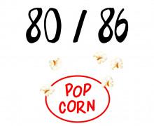 DIY-Nähset Kleidchen - Popcorn - Größe 80/86 - Jersey - Fasching - Karneval - Kostüm - zum selber Nähen