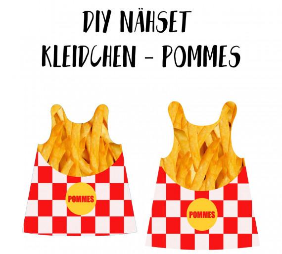 Diy Nahset Kleidchen Pommes Jersey Fasching Karneval