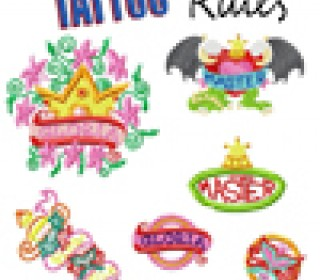 Stick Datei - Tattoo Rules 10x10