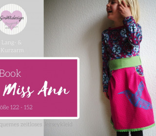 Ebook - Kleid Miss Ann Gr. 122 - 152 - GroWidesign