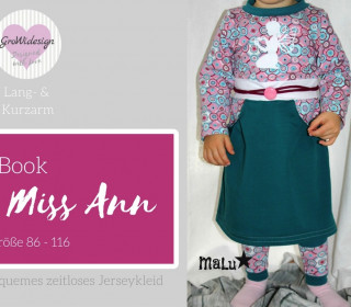 Ebook - Kleid Miss Ann Gr. 86 - 116 - GroWidesign