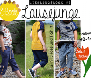 Ebook - Hose & T-Shirt - Kombi Lieblingslook #3 Lausejunge - Gr. 80 - 140