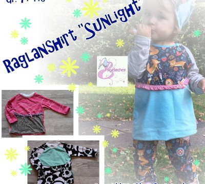 E-Book -  Sunlight Shirt Gr. 74 - 146 - Engelinchen Design
