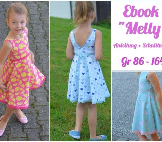 Ebook - Kleid Melly Gr. 86 - 164