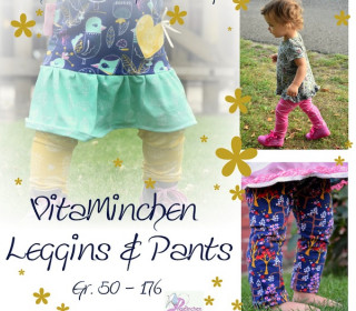 E-Book -  VitaMinchen Leggins & Pants Gr. 50 - 176 - Engelinchen Design