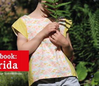 Ebook - Bluse - FRIDA Lässige Kinderbluse - Doppelgrößen 86/92 bis 146/152